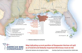 ABC map oil spill