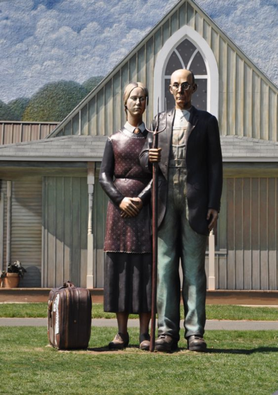 Grounds for Sculpture God Bless America DSC_0063